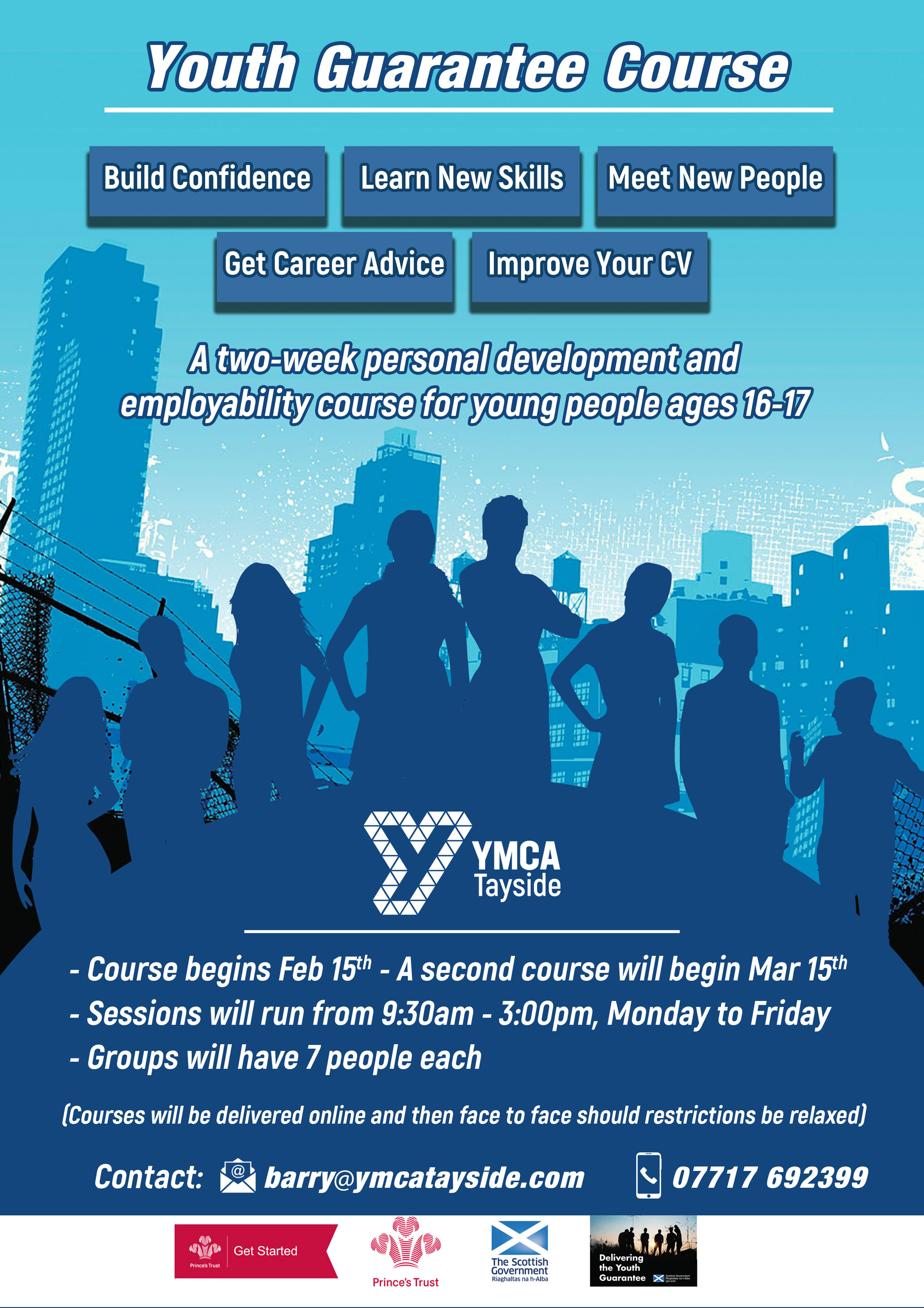 YMCA Youth Guarantee Programme